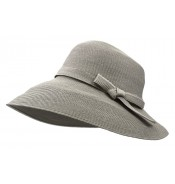 Wide brim hat - Joanna - greige grey